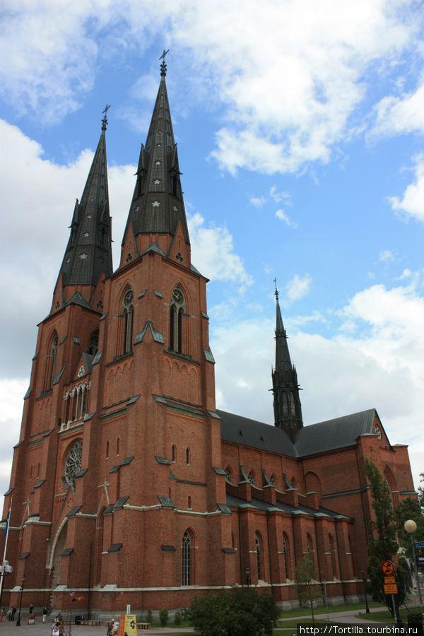 Швеция. Уппсала. Кафедральный собор