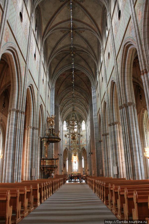 В Кафедральном соборе Уппсалы