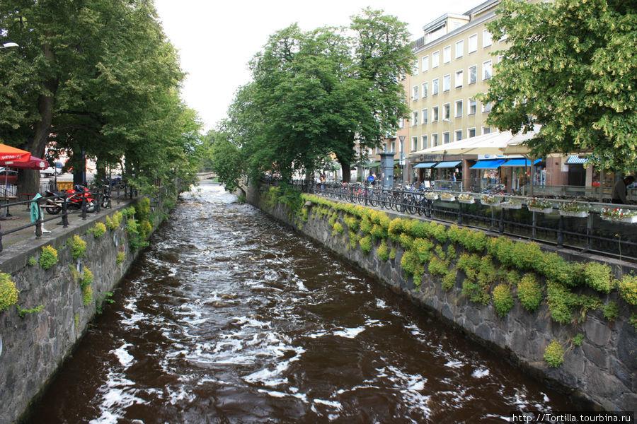 Швеция. Уппсала. Река