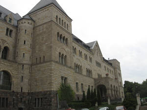 Прусский замок постройки начала 20 века.