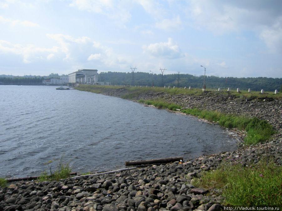 Верхнесвирская ГЭС, Подпо