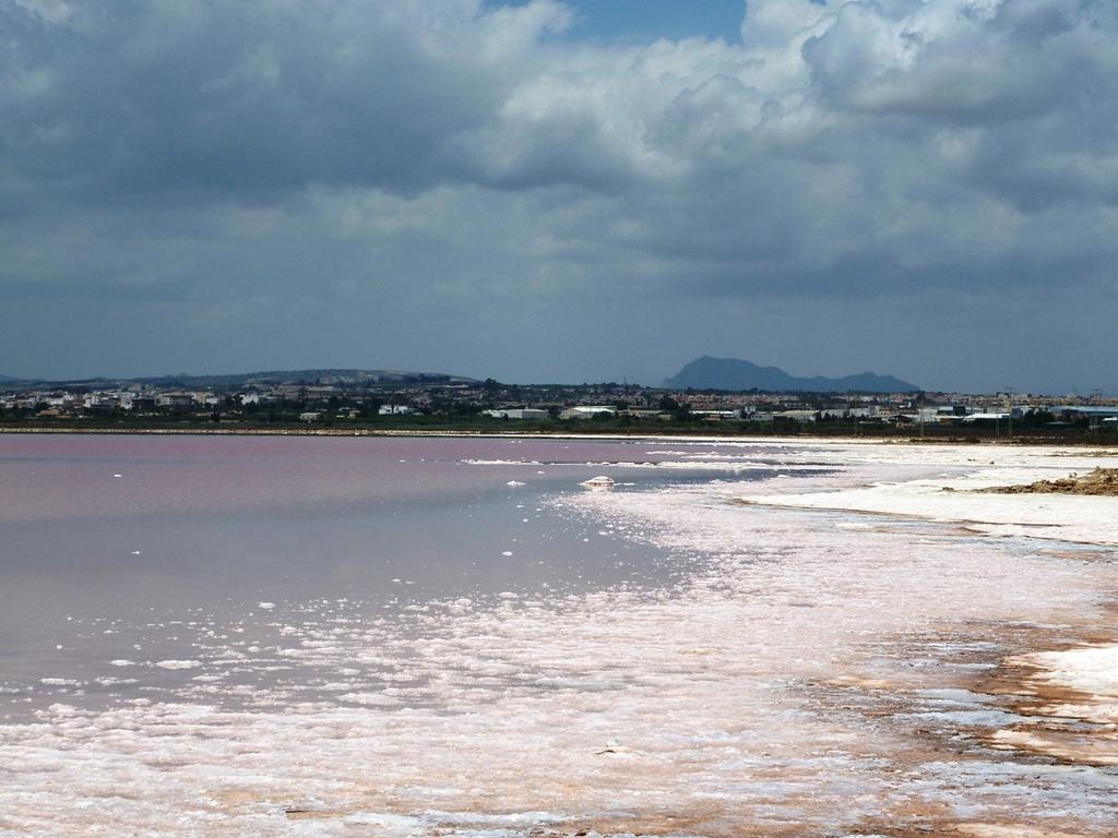 Как попасть на соленые озера в торревьеха испании