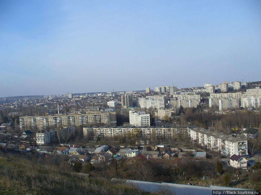 Симферополь с Петровских скал