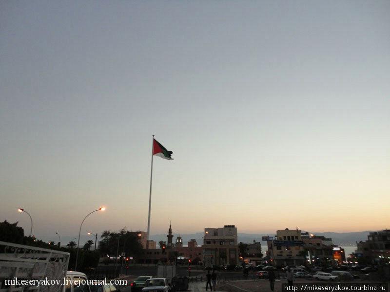 Флаг Арабской Революции в Акабе
