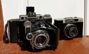 Среди всего этого я купил себе два советских фотоаппарата: