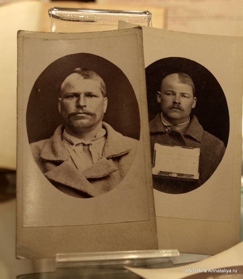 Ссыльным головы брили на половину — чтобы в случае побега было сразу понятно, что они сбежали.