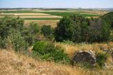 Вид с холма Гиссарлык.