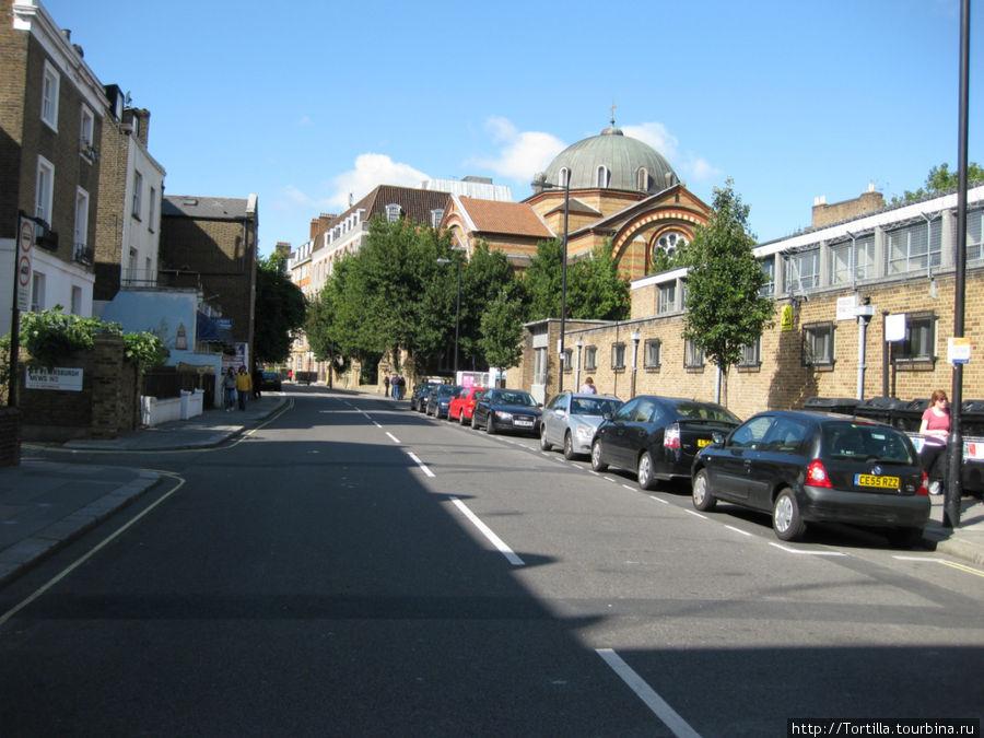 Лондон. Перекресток улиц