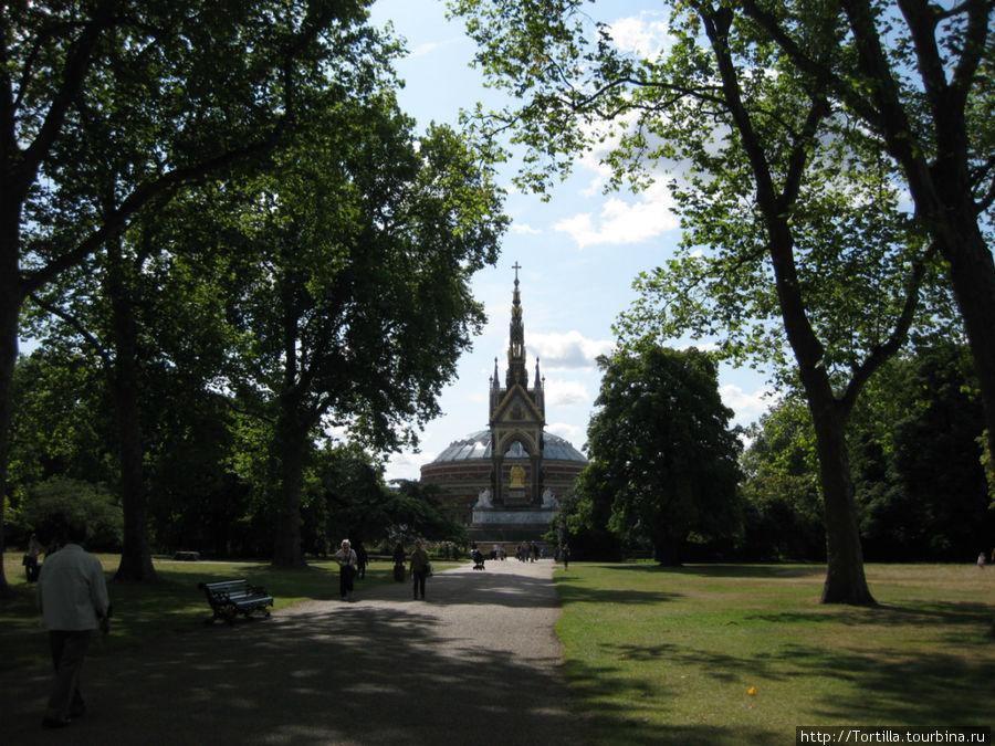Лондон. Гайд-парк.