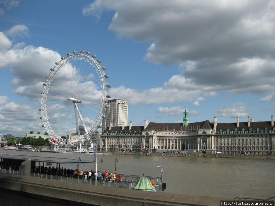 Лондон. Темз.