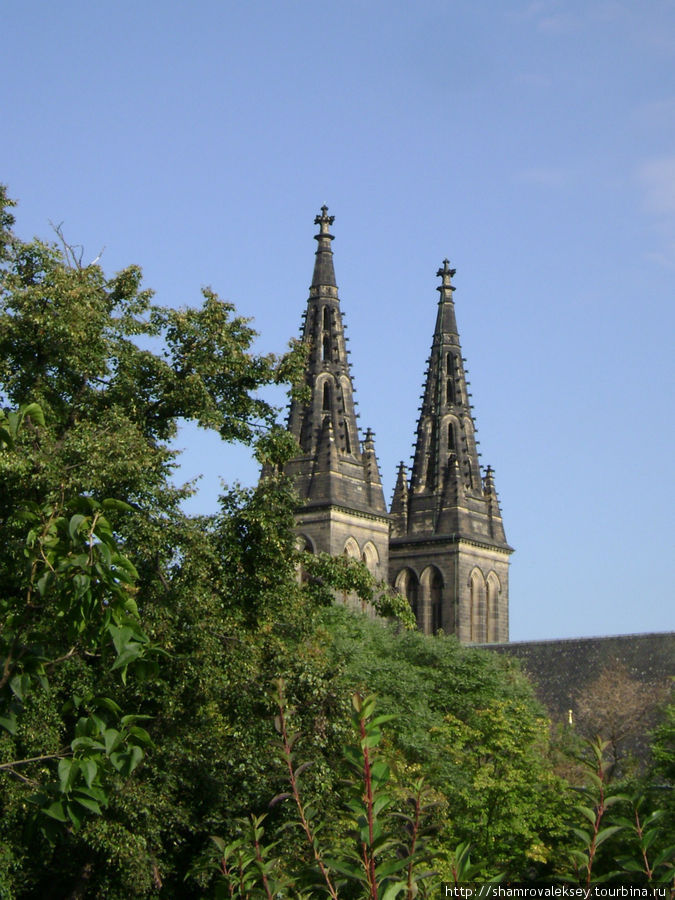 Шпили базилики св. Петра и Павла