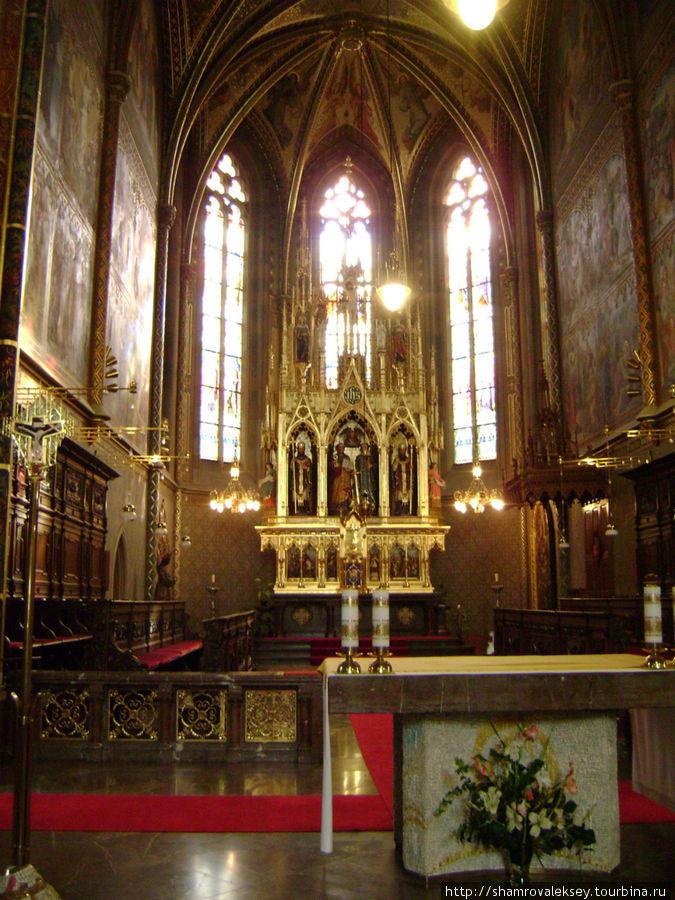 Алтарная часть базилики