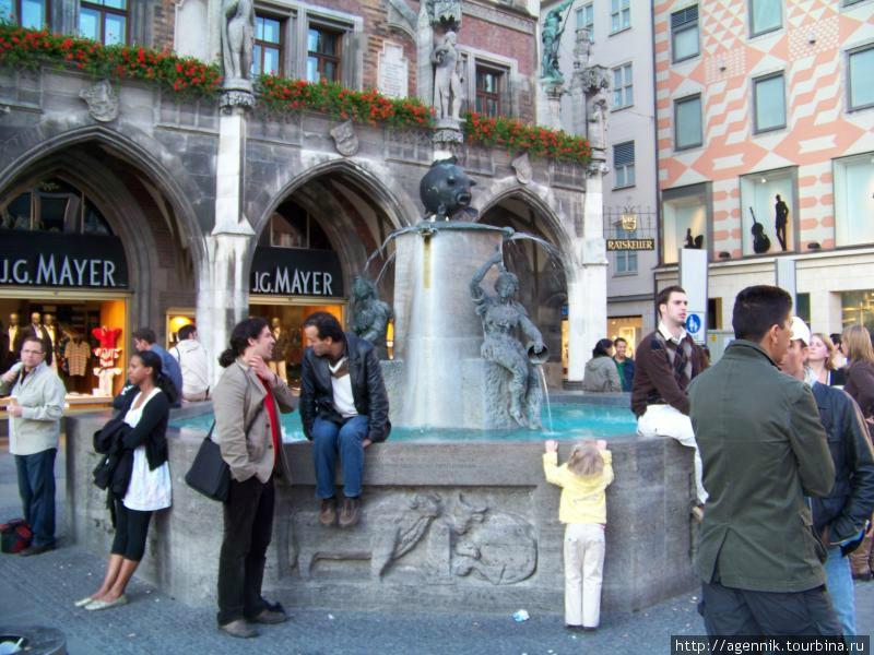 Рыбный фонтан