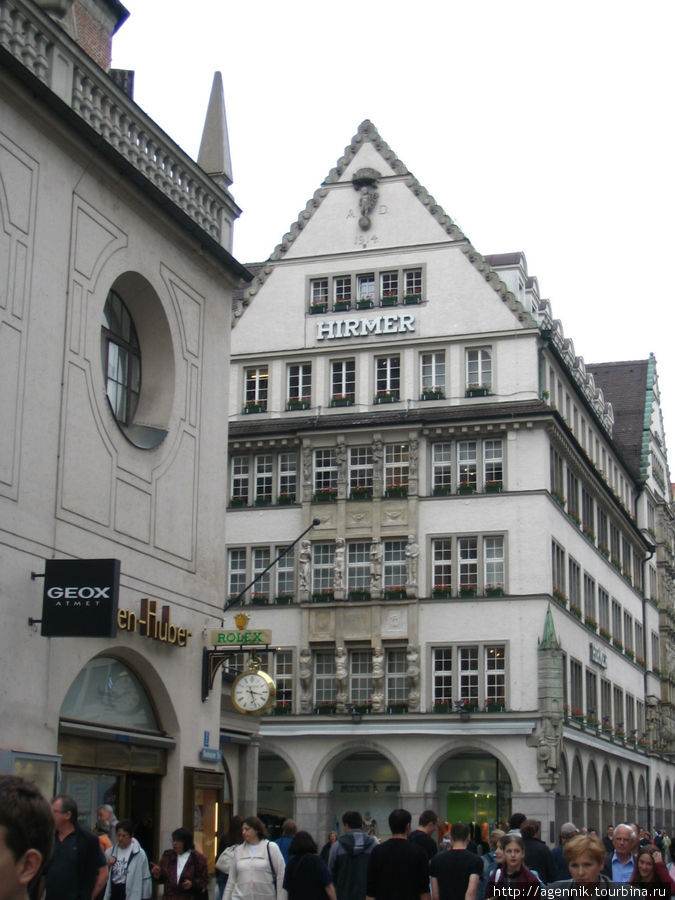 Боковой фасад Хирмера