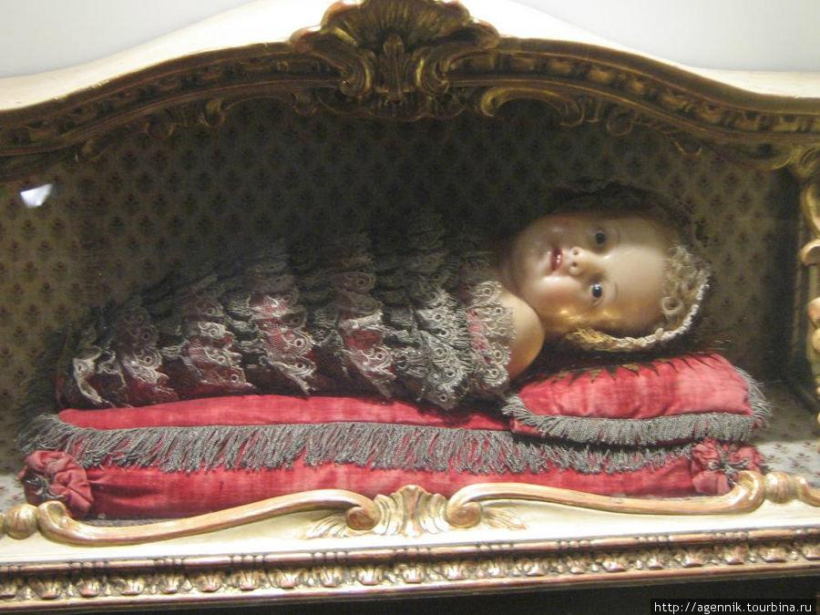 Младенец Христос — XVII век