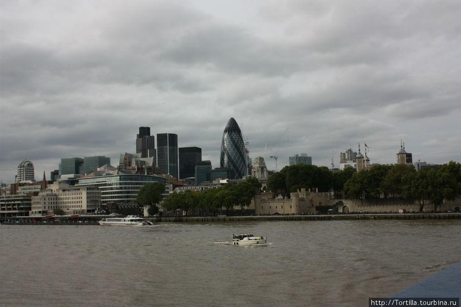 Лондон. Вид на Сити