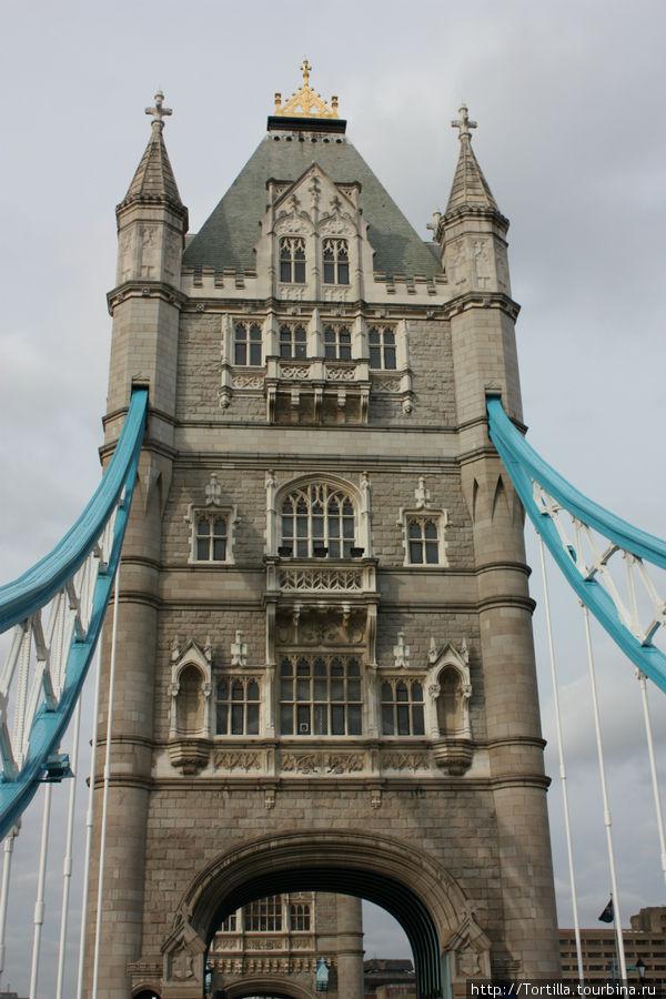 Лондон. Тауэр-бридж