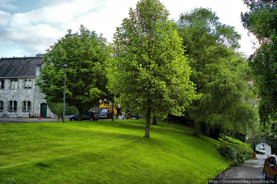 Университетский парк.