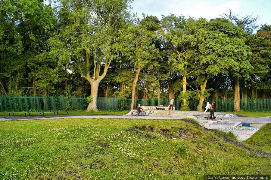 Фитцджеральд парк.