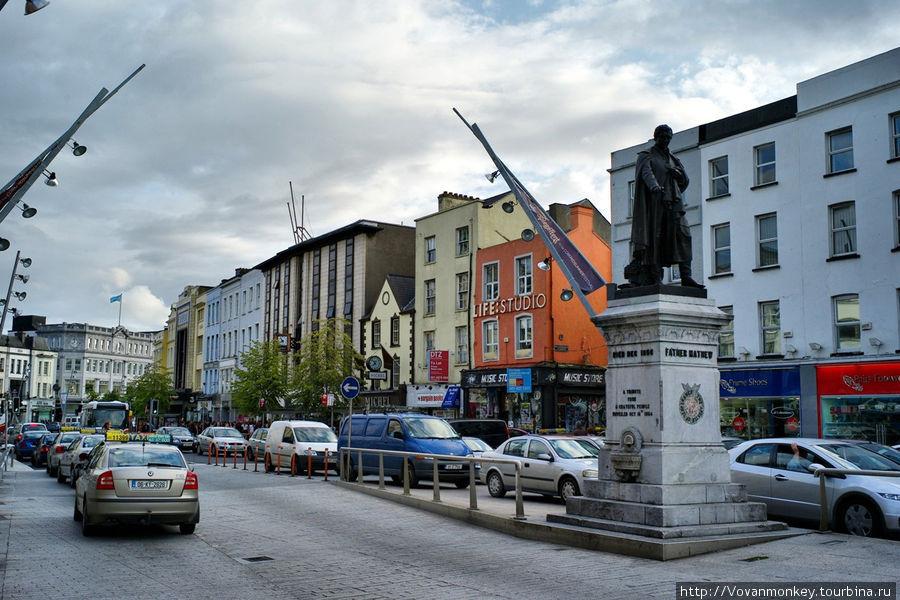Памятник Отцу Теобальду Мэттью на St. Patrick's street.