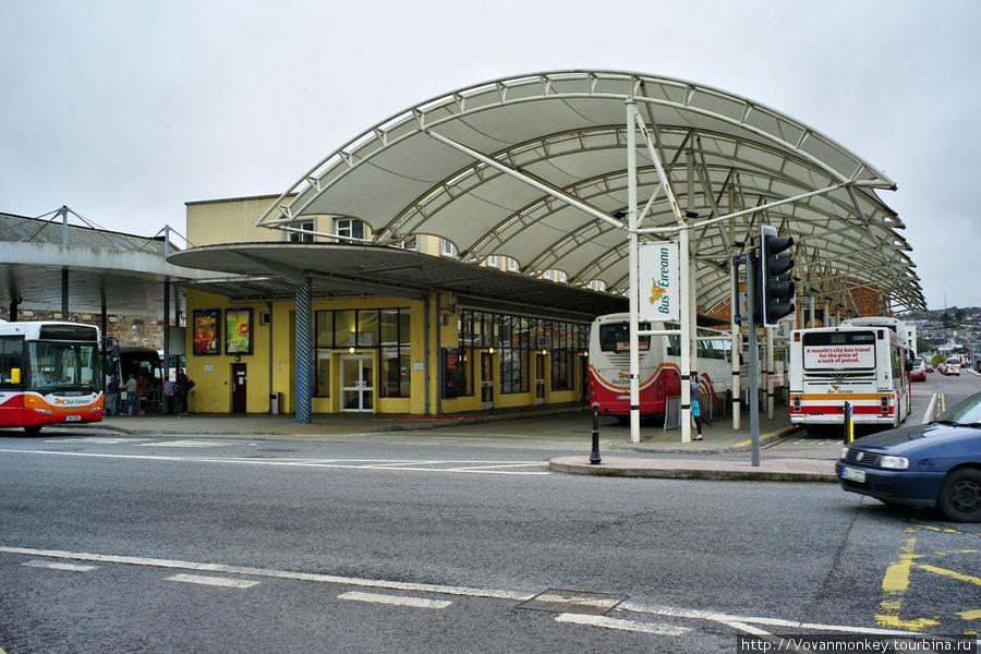 Главный автовокзал на Parnell street.