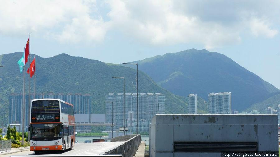 Вид из Гонконгского аэропорта