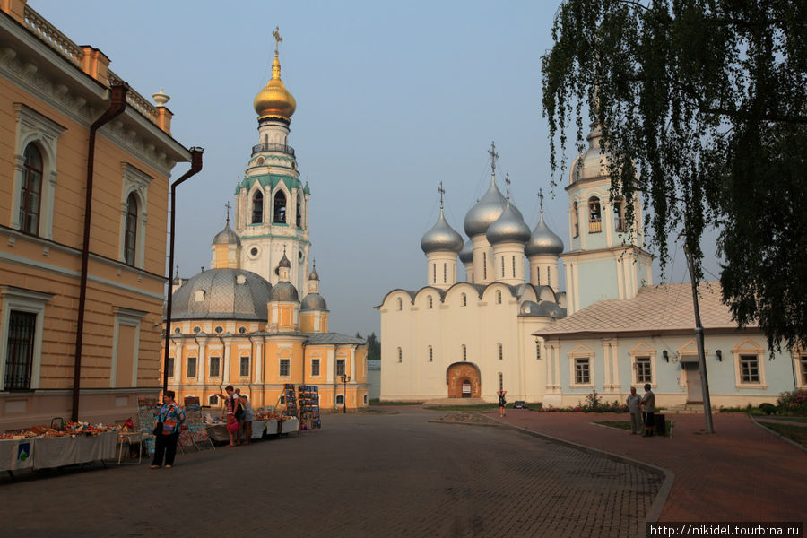 Вологда, вид на соборную площадь