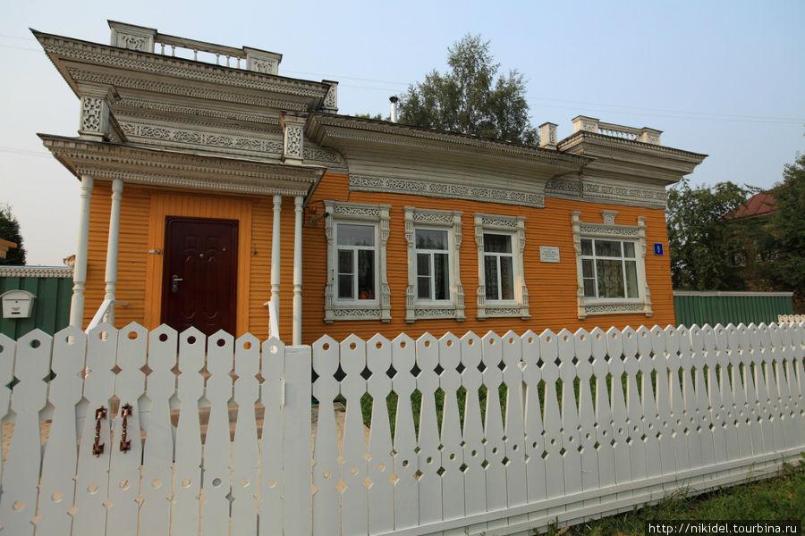 Вологда знаменита своими деревянными домами