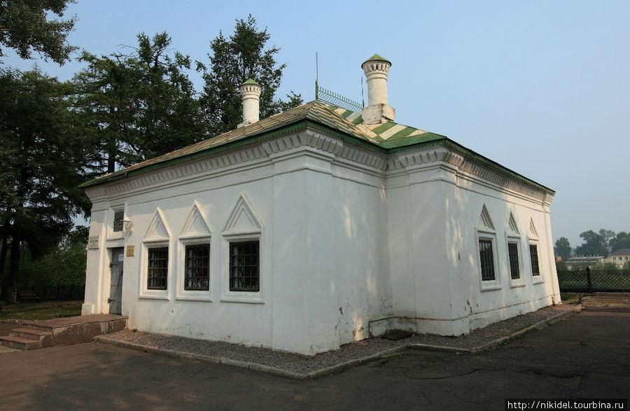 Домик, где жил Петр I