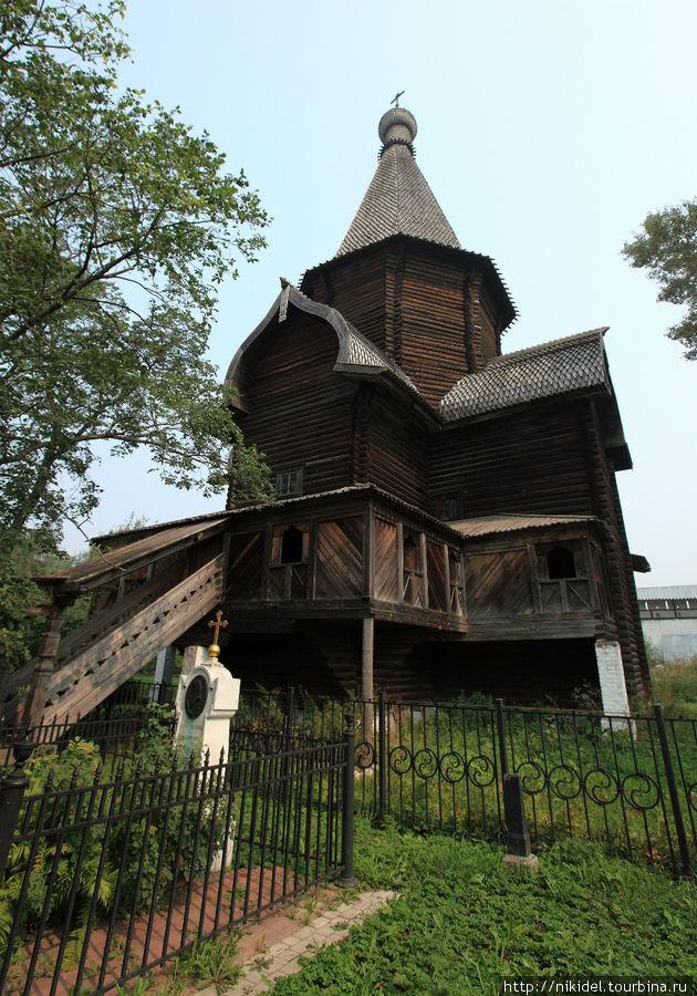 Спасо-Прилуцкий монастырь — самая древняя деревянная церковь в России