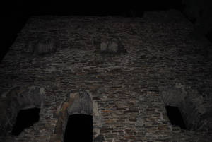Остатки замковой стены