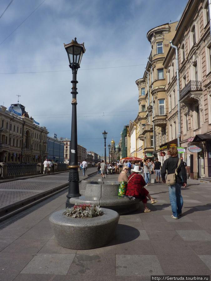 Новая пешеходная улица — Набережная канала Грибоедова