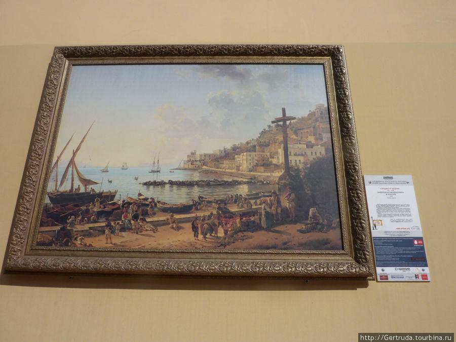 Картина художника Сильвестра Щедрина.