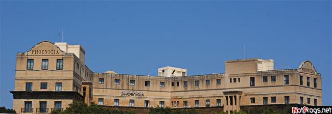 Одна из самых известных гостиниц Валетты