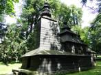 Деревянная церквушка в Йирасковых садах