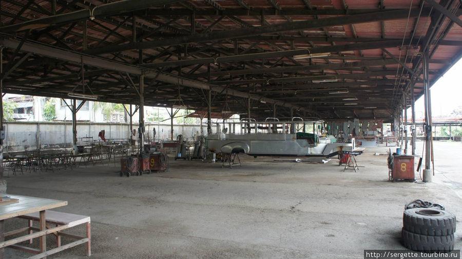 Цеха фабрики
