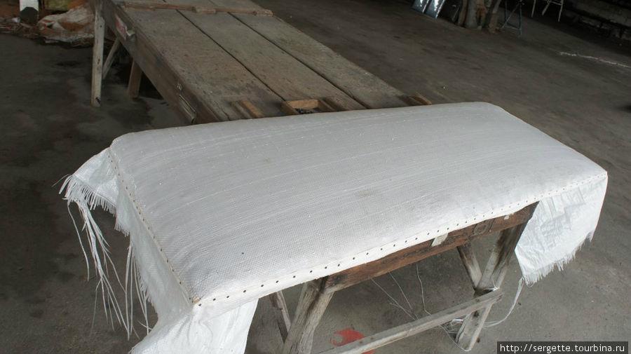 Будующая подушка