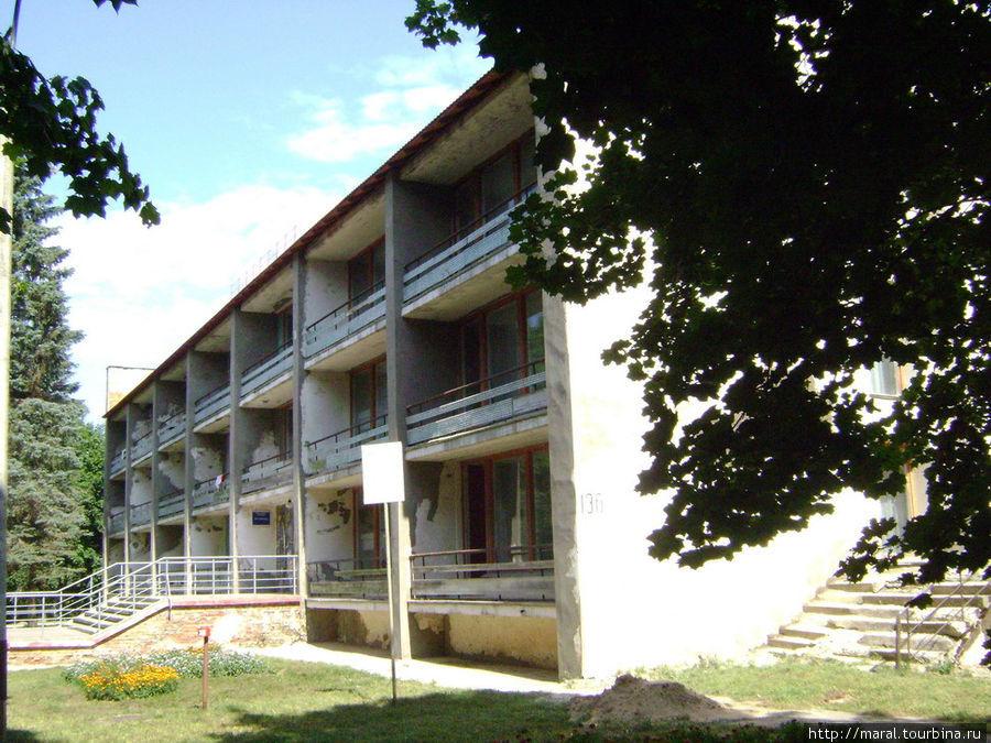 Гостиница в Борке