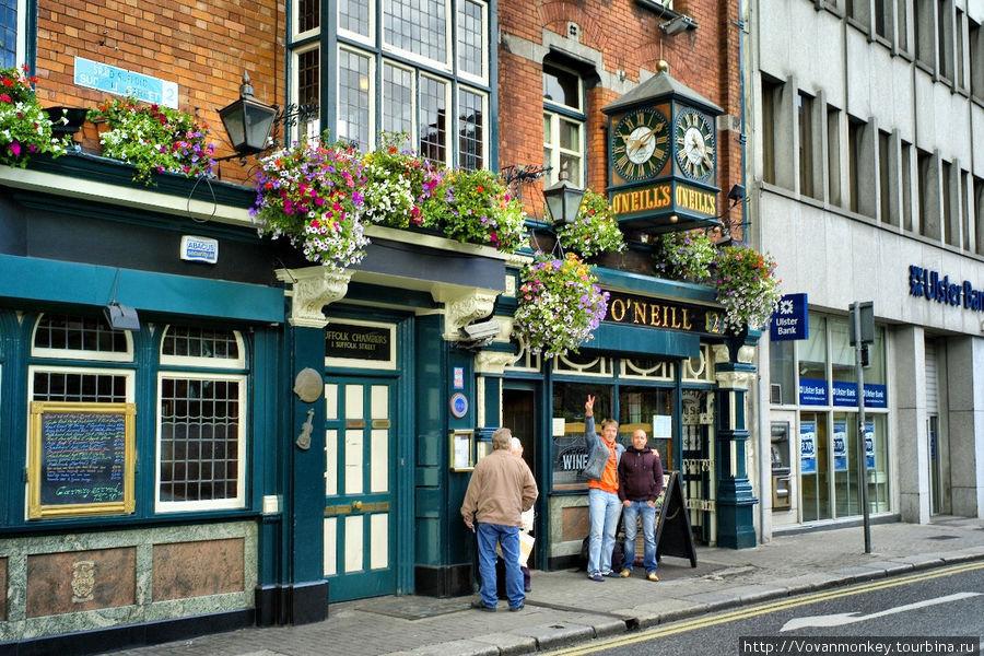 Viva from Dublin. Me & O'Neill под одноимённой вывеской. :)