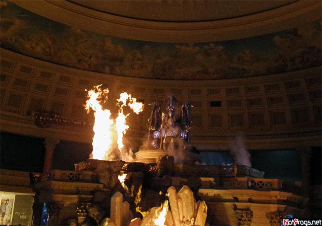 Шоу в отеле Цезарь