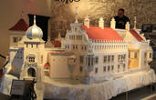 Макеты замков в музее