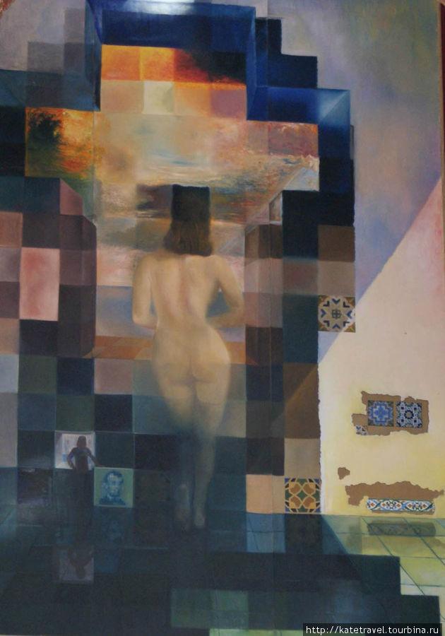Картина «Обнаженная Гала, смотрящая на море»...
