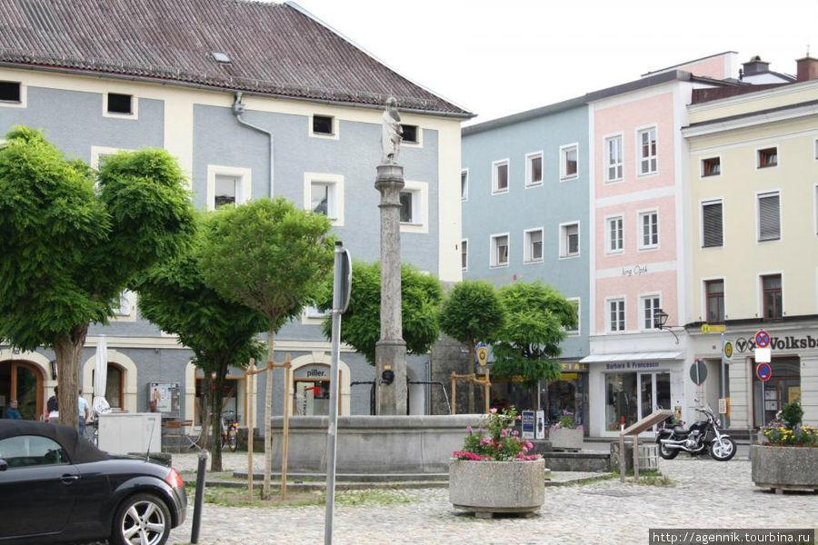 Мариенплац с колонной Марии