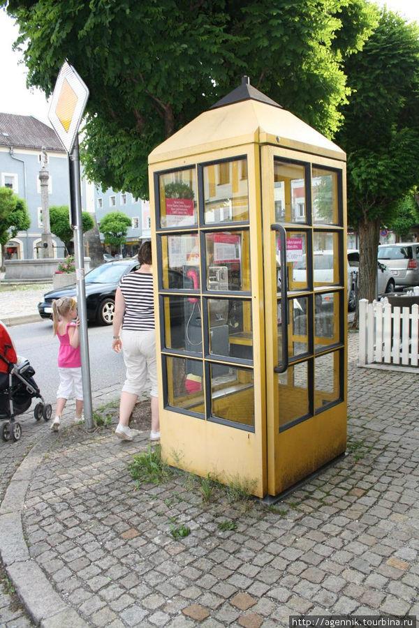 Старая телефонная будка — таких осталось немного
