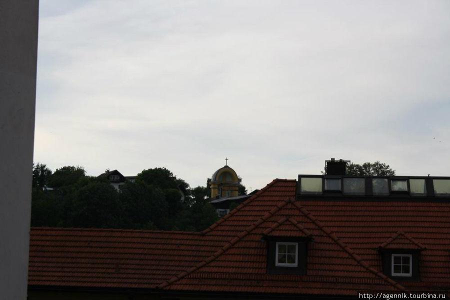 Панорама с Лестницей Голгофы