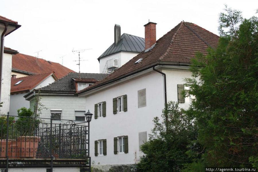 Дома в центре