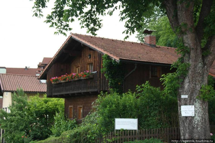 Типичный тирольский домик
