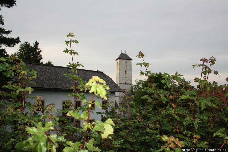Вторая уцелевшая башная Лауфена