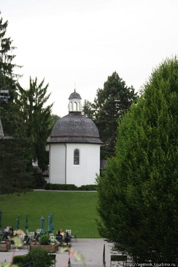 Часовня на месте храма, где была написана
