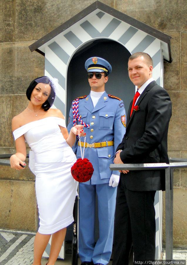 Русская невеста фонтаниро